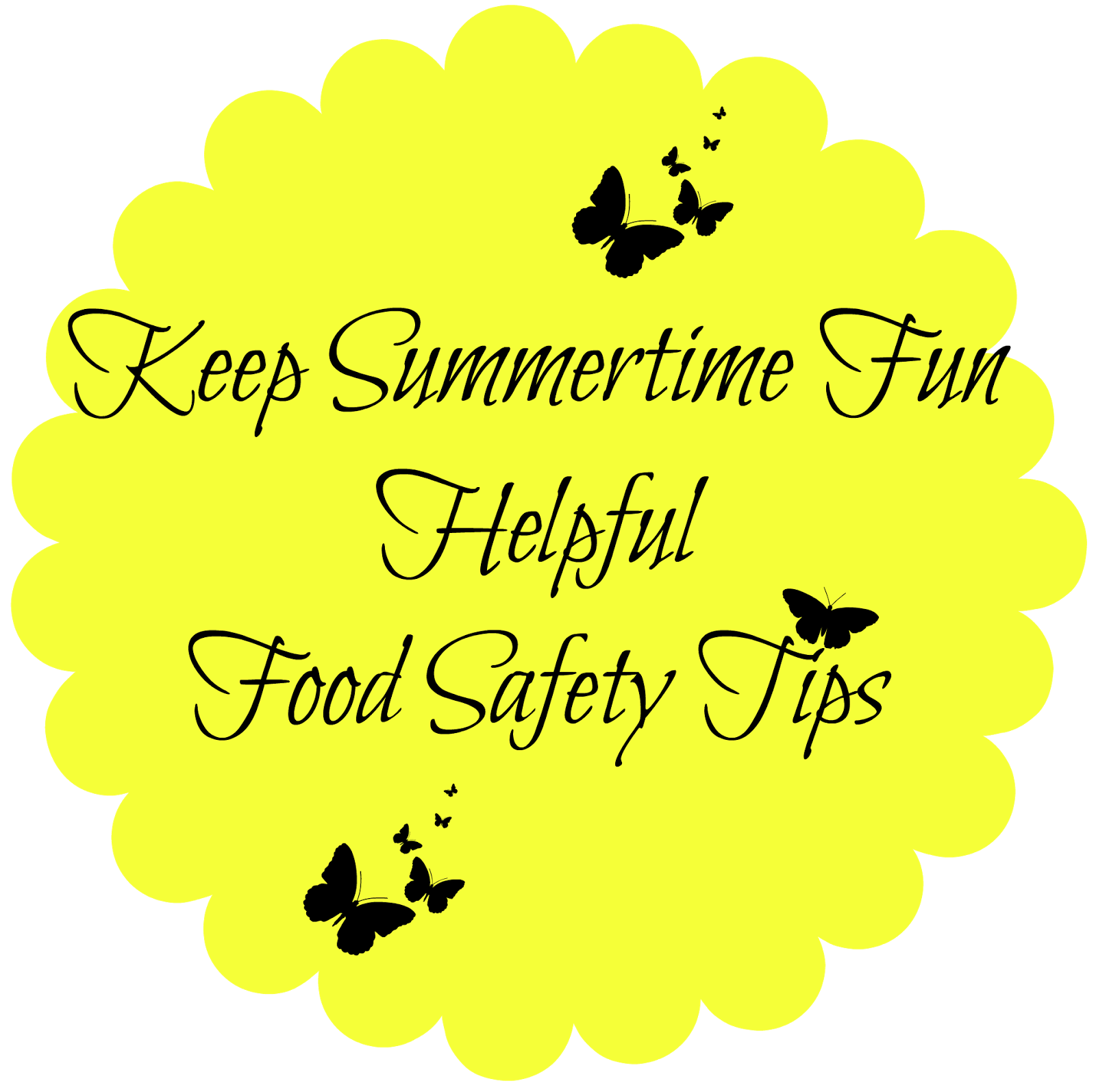Keep Summertime Fun: Helpful Food Safety Tips - Easy Life Meal & Party Planning  Did you know that foodborne illness occurs more often during the summer?