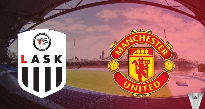 Susunan Pemain LASK vs Manchester United