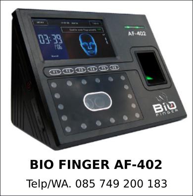Jual Grosir Bio Finger AF-402 Murah Berkualitas