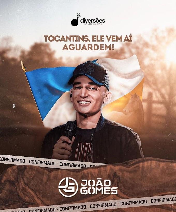 CONFIRMADO! JOÃO GOMES NO TOCANTINS