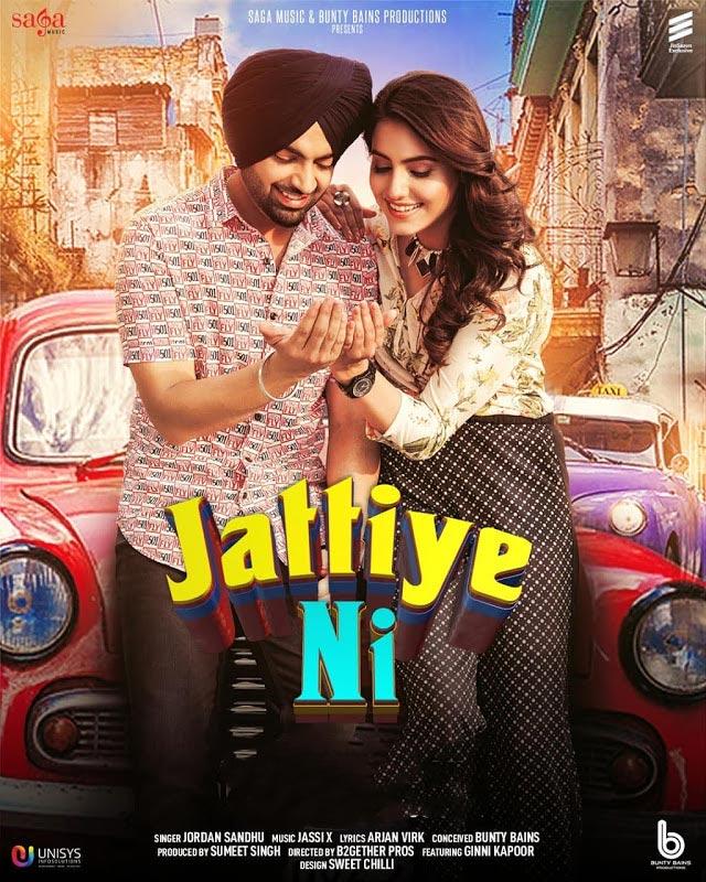 Jattiye Ni Jordan Sandhu New Song 2019