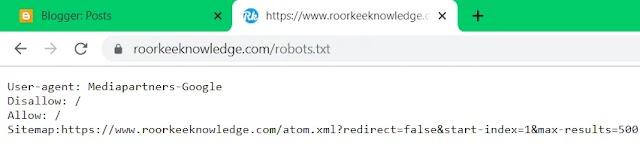 Robots.txt file क्या है best robot.txt file कैसे बनायें