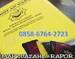 Cetak Map Ijazah / Sampul cover 0858-6764-2723 Sekolah - Kampus - wisuda Universitas
