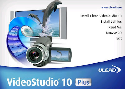 Membuat Runing Text Dengan Ulead Video Studio 10 di PC