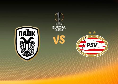 PAOK vs PSV  Resumen