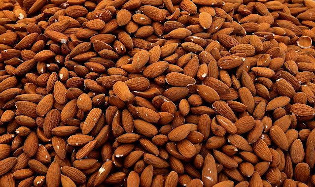 Eating too many almonds