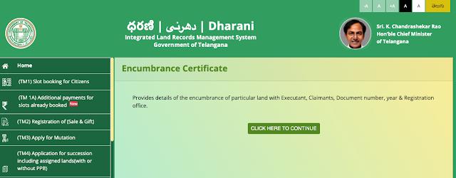 Dharani Website Login