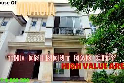 Rumah Vivacia Lebar 10  Kawasan Eminent BSD City