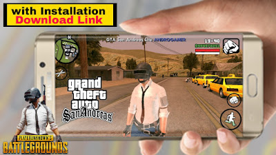 Pubg Mod For Gta San Andreas Android 3MB