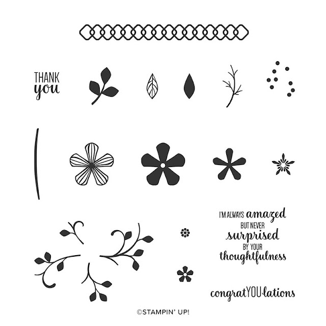 Thoughtful Blooms Stamp Set Stampin Up