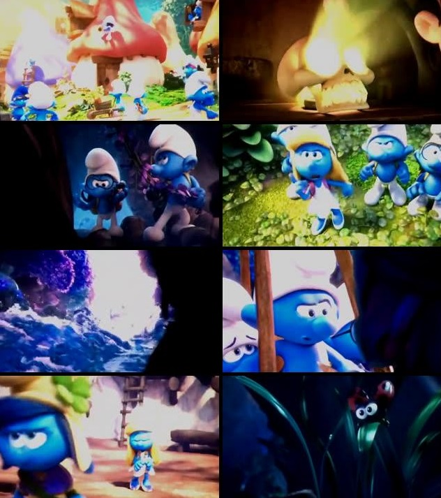 720p dual audio movies Smurfs - The Lost Village (English)
