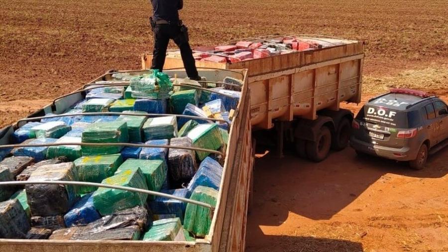 A maior da história! Mais de 33 toneladas de maconha apreendida, segundo o DOF