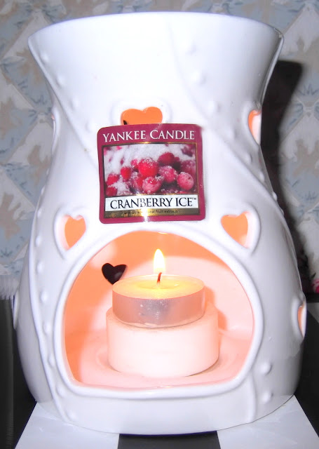 YANKEE CANDLE Tartelettes Cranberry Ice