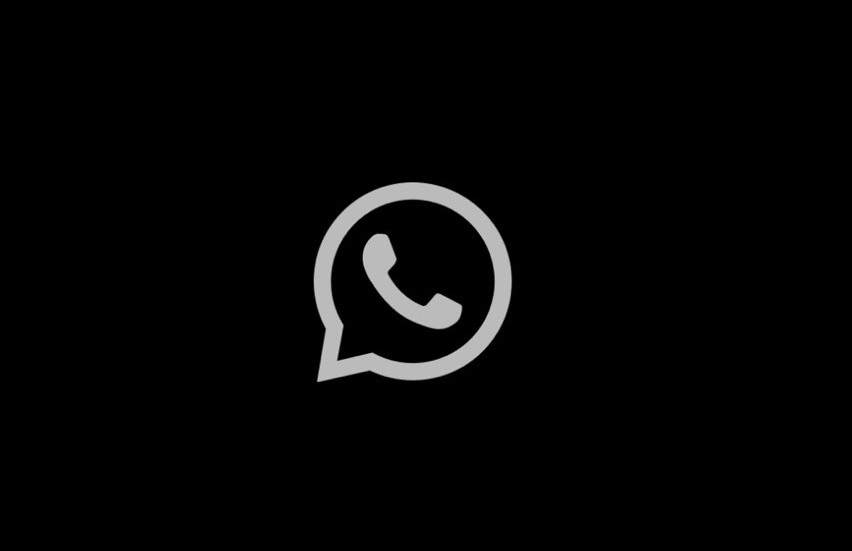 WhatsApp says that we have given dark gray background and off-white color text in this Dark Mode