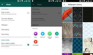 طريقة تغيير الخلفية في تطبيق واتساب WhatsApp بكل سهولة