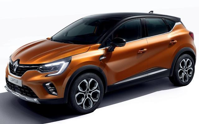 Novo Renault Captur 2020