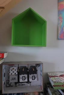 półka domek przeróbka farba luxens leroy merlin