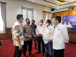 Kabid Humas Polda Banten Kombes Pol Edy Sumardi Hadiri Acara Pelantikan Pengurus SMS Banten