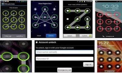 Trik Memperbaiki Lupa Pola Kunci & Password Android