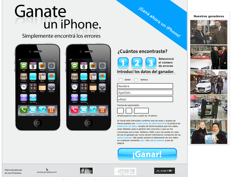 GANATE UN IPHONE X GRATIS