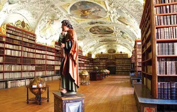 Monastério Strahov em Praga Biblioteca