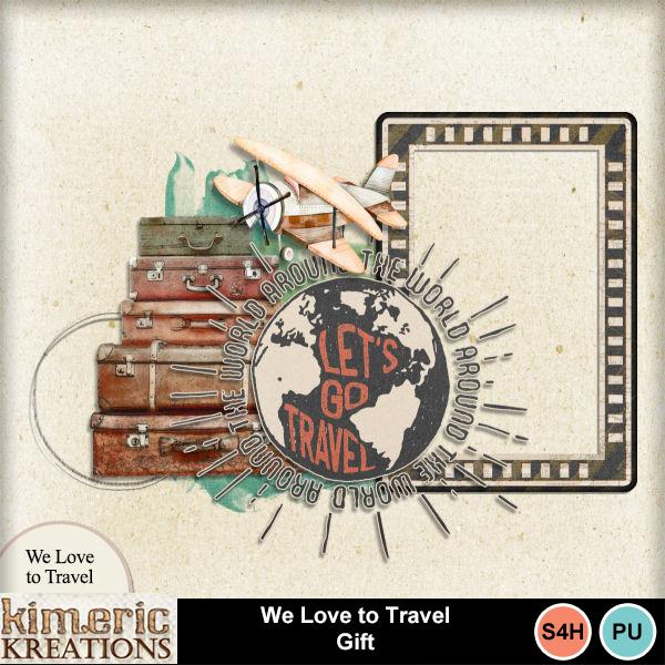 We Love to Travel & a Freebie!