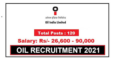 120 Posts | Oil India Limited Recruitment 2021
