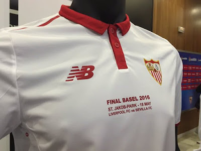 db1ccecc85e53 Camiseta New Balance del Sevilla FC 2016-2017