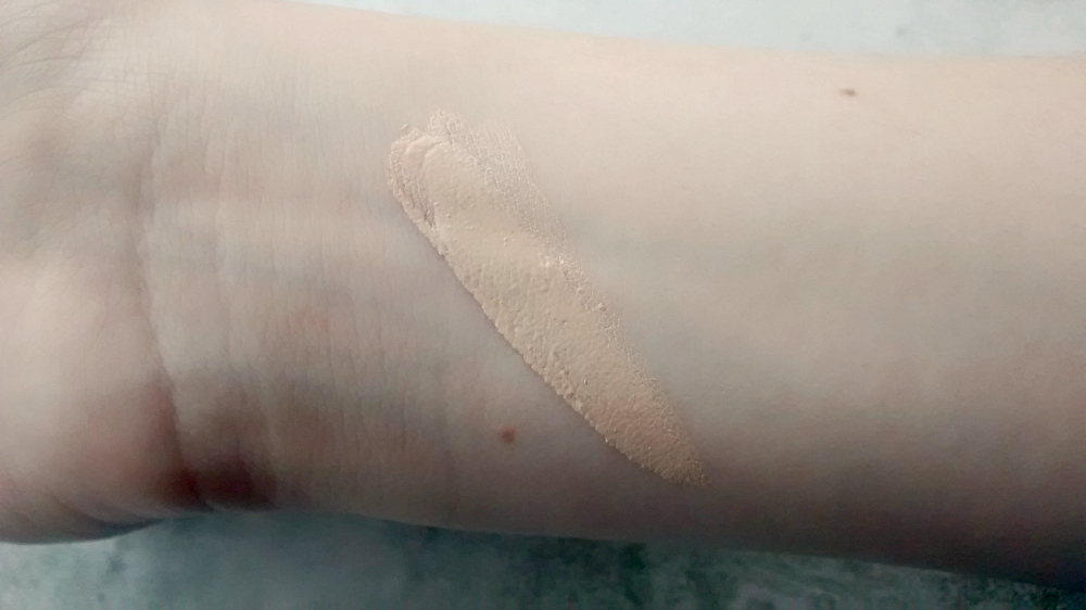 Rimmel BB Cream Swatch