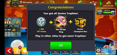 Rings 8 ball pool