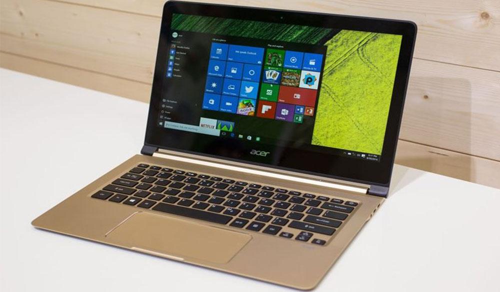 Dünyanın En İnce Laptop Bilgisayarı Acer Swift 7