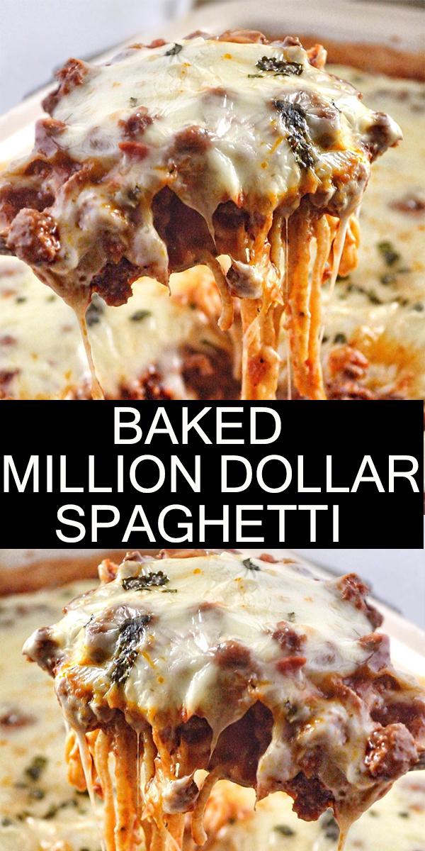 BAKED MILLION DOLLAR SPAGHETTI #BAKED #MILLION #DOLLAR #SPAGHETTI #BAKEDMILLIONDOLLARSPAGHETTI