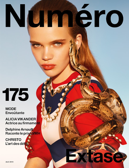 Fashion Model, @ Stella Lucia by Txema Yeste for Numéro #175 August 2016