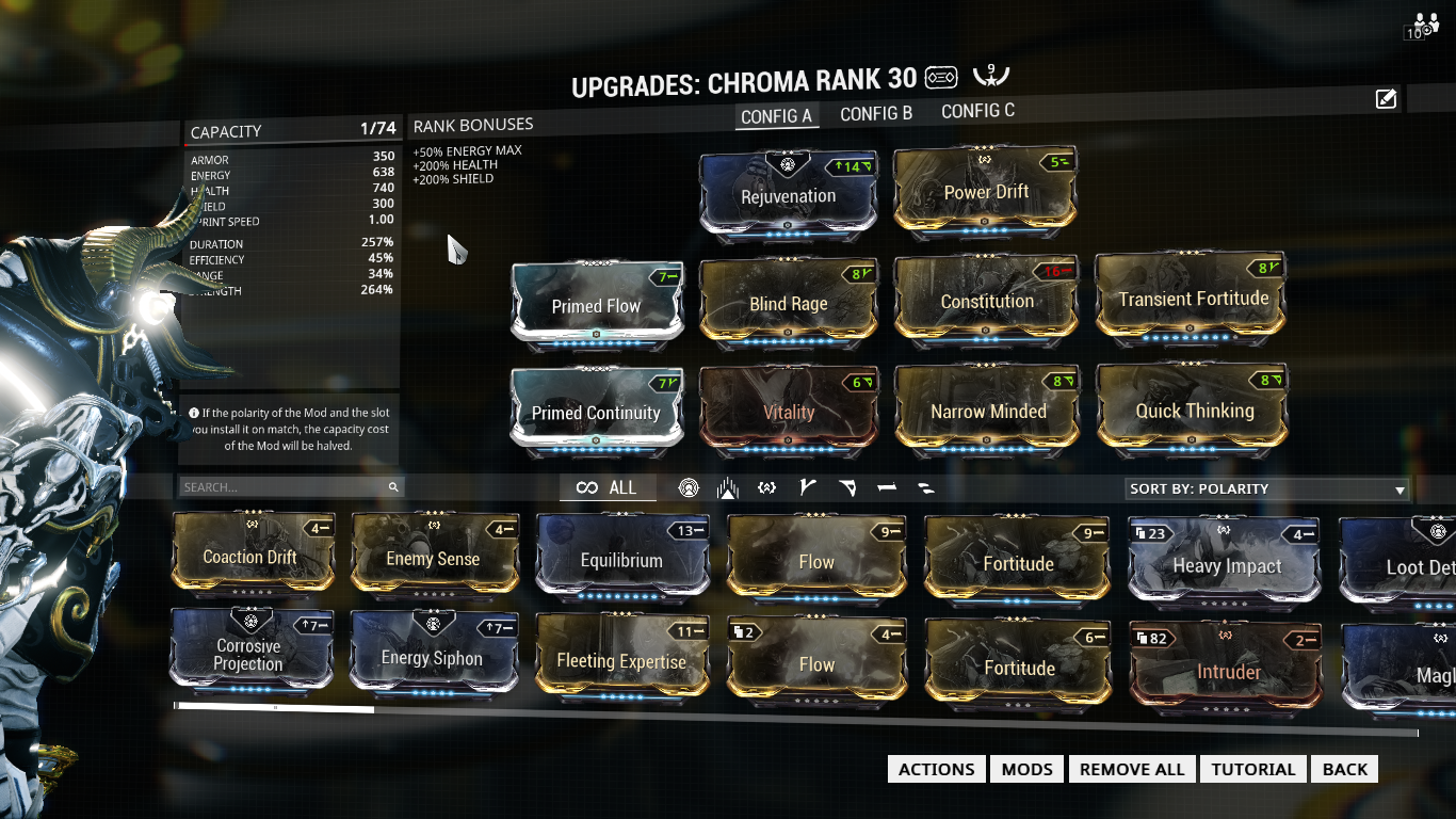 Warframe Best Zenurik Build