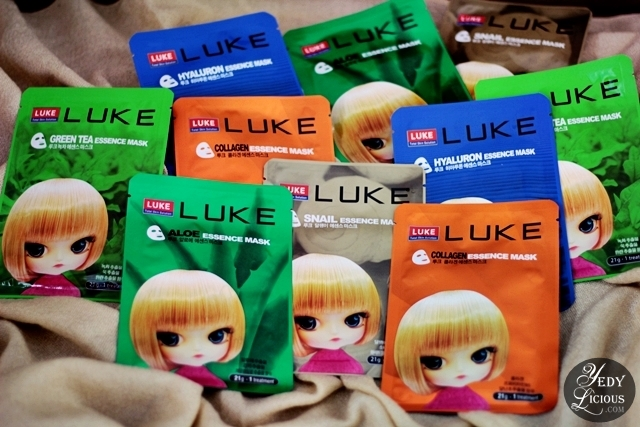 Luke Skin PH Korean Face Mask, Cleansing Nose Strip, and Hydrogel Eye Patch, Luke Total Skin Solution Korean Beauty Brand in the Philippines, Where To Buy Luke Total Skin Solution, Best Korean Beauty Skincare Brand in The Philippines Blog Review YedyLicious Manila Blog Yedy Calaguas
