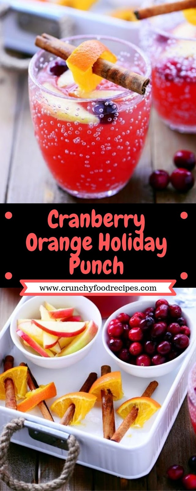 Cranberry Orange Holiday Punch