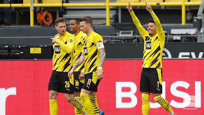 ملخص واهداف مباراة بوروسيا دورتموند ولايبزيغ (3-2) الدوري الالماني