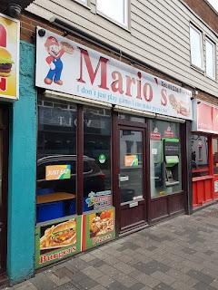 Mario's takeaway in Barnsley