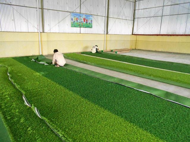 rumput lapangan futsal murah