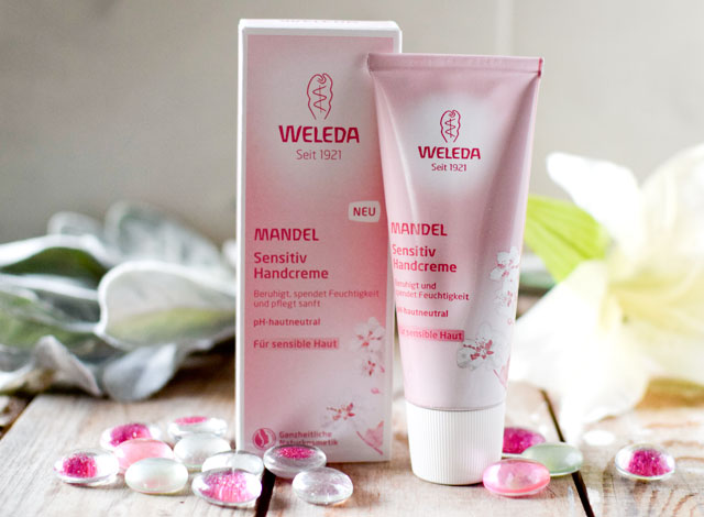 weleda Handcreme sensitive Mandel
