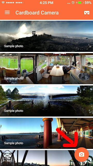 Cara Mengambil gambar 360 Derajat di Android