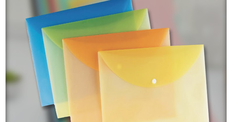 Different Usage of Different Plastic Files Types to Protect The Hard Documents