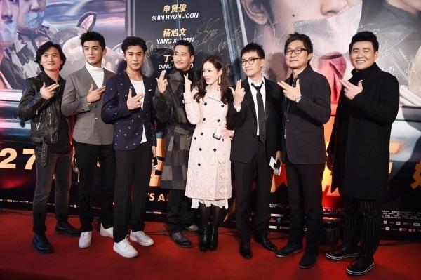 Son Ye-jin at premiere event of film Bad Guys Always Die