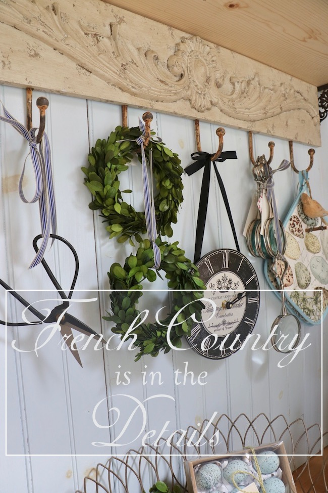 French Country is in the details shows how to incorporate French style in your home