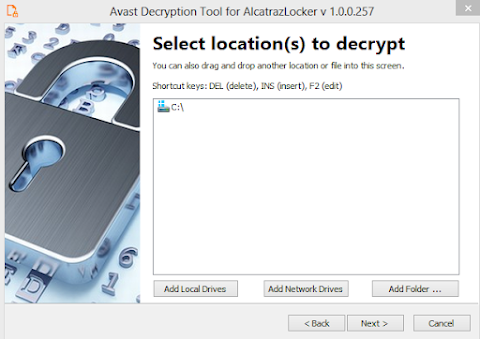 Alcatraz Ransom decryptor tool download