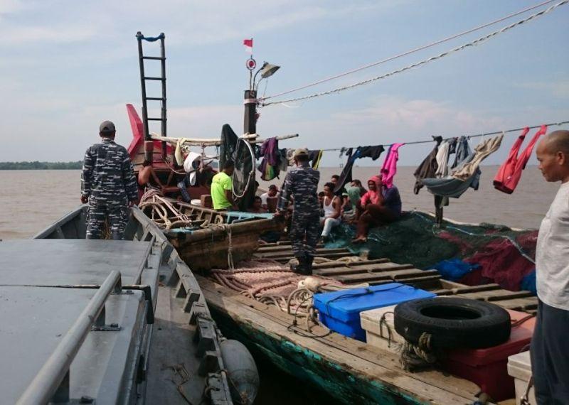 Lanal TBA Perketat Pengawasan Diperairan Tanjung Balai