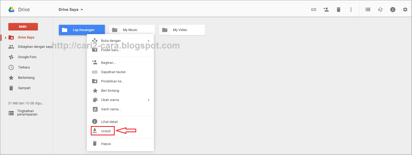 Cara Pdf Di Google Drive