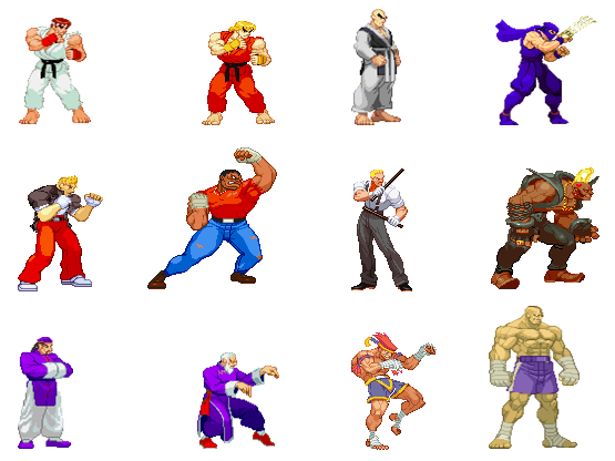 Street Fighter Street Fighter 1 Remake