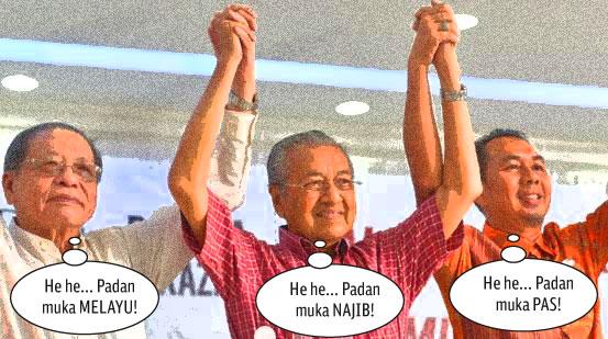 Apabila Tun Mahathir bersekongkol dengan DAP....