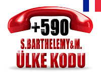 +590 Saint Barthelemy ve Saint Martin ülke telefon kodu